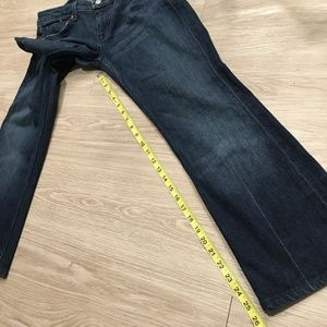 7 For All Mankind Jeans - 74AMK 7 For All Mankind Flynt Jeans Bootcut Crop